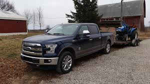 My 2015 F150 King Ranch Hauling Home Another Workhorse. : Trucks