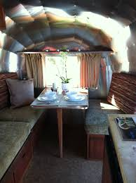 100 Inside An Airstream Trailer A New Dinettebed Inside A 1965 Caravel Done At Www