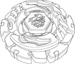 Coloriage Beyblade Burst Evolution Valtryek V3 Jeux De Coloriage