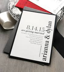 Modern Wedding Invitations Invitation Urban Chic