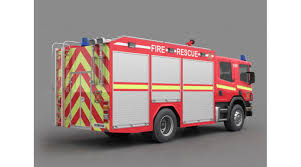 Fire Truck, 3D Library - 3D Models Vehicles Transports