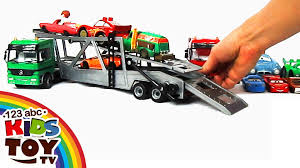 Сar Transporters Car For KIDS. TOYS = ☺123abc Kids Toy TV ... Prtex 60cm Detachable Carrier Truck Toy Car Transporter With Product Nr15213 143 Kenworth W900 Double Auto 79 Other Toys Melissa Doug Mickey Mouse Clubhouse Mega Racecar Aaa What Shop Costway Portable Container 8 Pcs Alloy Hot Mini Rc Race 124 Remote Control Semi Set Wooden Helicopters And Megatoybrand Dinosaurs Transport With Dinosaur Amazing Figt Kids 6 Cars Wvol For Boys Includes Cars Ar Transporters Toys Green Gtccrb1237