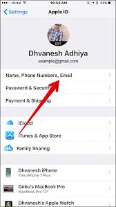 How to Change Email Address Associated with Apple ID in iOS 10 3