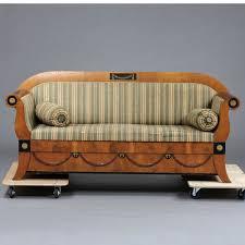 Biedermeier Sofa Zu Verkaufen by Seltenes Biedermeier Sofa Kirschbaum Bronze Um 1820 Ebay