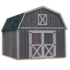 Home Depot Shelterlogic Sheds by Best Barns Sheds Garages U0026 Outdoor Storage Storage