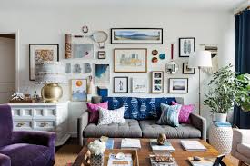 Crate And Barrel Petrie Sofa Cleaning by Tour A Designer U0027s Eclectic Modern West New York Apartment