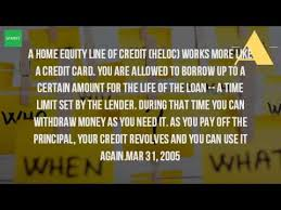 How Do Home Equity Line Credit Payments Work