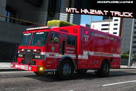100 Hazmat Truck MTL Fire AddOn Liveries Template GTA5Modscom