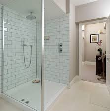 white subway tile bathroom ideas with shower only design abpho
