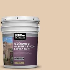 Hairline Cracks In Ceiling Paint by Behr Premium 5 Gal Elastomeric Masonry Stucco And Brick Paint