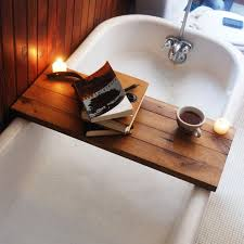 Build Your Own Bathtub Shelf To Hold Candles Favorite Book Or Anything You Want While Bathing DIY Instructions Snippets Of Design