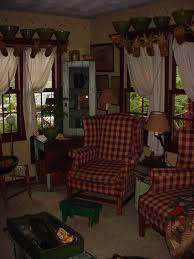 Primitive Living Room Curtains by Primitive Country Living Room Ideas Christmas Ideas Free Home