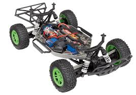 Traxxas Slash 4X4 1/10 4WD XL-5 RTR Short Course Truck Green ...
