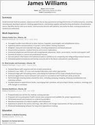 Resume Examples For Retail Associate Sales Templates Medical Assistant