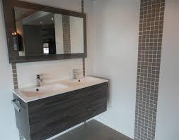 impressionnant deco salle de bain grise et blanche avec salle de
