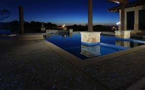 Glow In The Dark Mosaic Pool Tiles by Ambient Glow Technology
