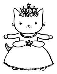 Do You Want To Color Princess Kitty One Out Of Tiny T