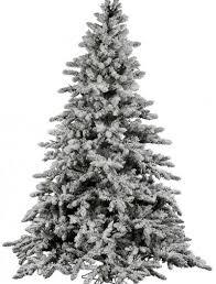 12 Foot Unlit Artificial Christmas Tree Utica Flock Full Vickerman