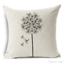 24 X 24 Patio Cushion Covers by Dandelion Cushion Cover Free Fly Black And White Moral Throw