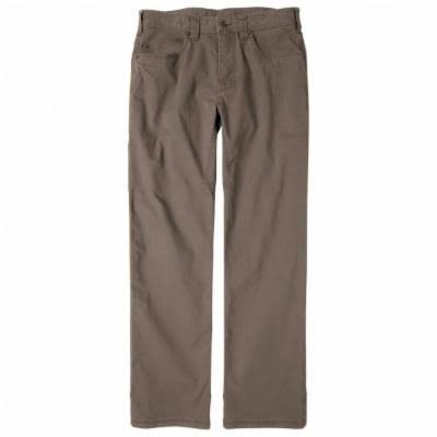 prAna Men's Bronson Pant 32 in. Inseam Mud 33
