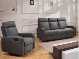 couchgarnitur relax stoff 3 1 carlina anthrazit