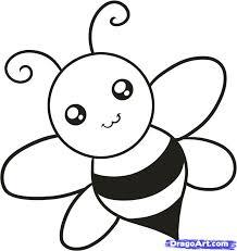 Drawn Bumblebee Cute Spring 15