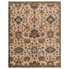 Green Jute Rug by Chi Printed Green And Beige Jute Rug