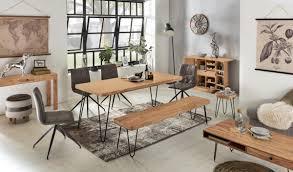 finebuy sitzbank harlem akazie holz bank für esstisch massiv küchenbank massivholz essbank ohne lehne für esszimmer