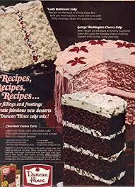 Vintage Print Ad 1967 Duncan Hines Lady Baltimore Cake George