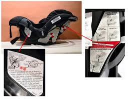 Evenflo High Chair Recall Canada by Evenflo Canada Snugli And Embrace 35 Labelling Recall Car Seats