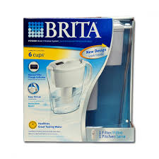 Brita Water Faucet Filter Troubleshooting by Brita Ob21 Space Saver Water Filter Pitcher 35250