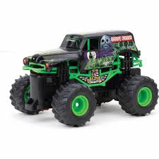 New Bright 1:43 Radio Control Full-Function Monster Jam Grave Digger ... New Bright Monster Jam Radio Control And Ndash Grave Digger Remote Truck G V Rc Car Jams Amazoncom 124 Colors May Vary Gizmo Toy 18 Rc Ff Pro Scorpion 128v Battery Rb Grave Digger 115 Scalefreaky Review All Chrome Scale Mega Blast Trucks Triangle By Youtube 1530 Pops Toys New Bright Big For Monster Extreme Industrial Co