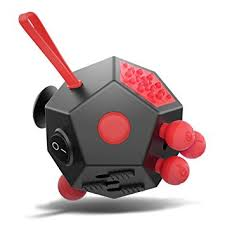 XDesign Fidget Cube 12 Sides Attention Toy Relieves Stress And Anxiety Relax For