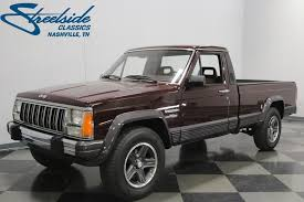 1988 Jeep Comanche | Streetside Classics - The Nation's Trusted ... Commercial Vehicles For Sale Trucks For Enterprise Car Sales Certified Used Cars Suvs Trucks For Sale Jc Tires New Semi Truck Laredo Tx Driving School In Fhotes O F The Grave Digger Ice Cream On 2040cars Preowned 2014 Ford F150 Fx4 4d Supercrew In Homestead 11708hv Gametruck Party Gezginturknet Kingsville Home