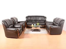 Denzin Leather 7 Seater Sofa Set Buy and Sell Used Furniture and