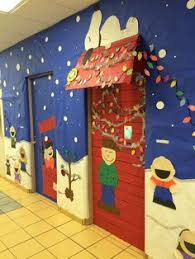 Classroom Door Christmas Decorations Ideas by Santa Classroom Door Decoration Christmas Doors Pinterest