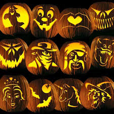 Pumpkin Carving Witch Face Template by Pumpkin Carving Tattoos Patterns Templates