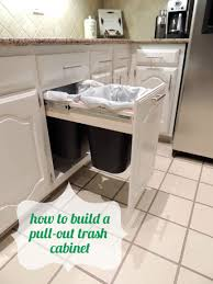 Under Cabinet Trash Can Pull Out by Trash Talk Do Or Diy