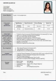 Resume Samples For Freshers Engineers Pdf Format Resumes Electrical Engineer