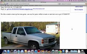 Craigslist Used Cars And Trucks For Sale By Owner Tulsa Ok ...