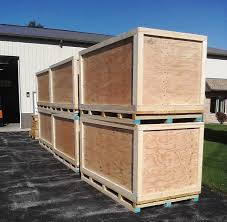 Like These Heavy Duty Wood Shipping Crates You See Stacked