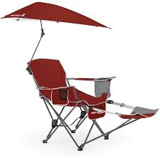 sport brella recliner chair firebrick red walmart com