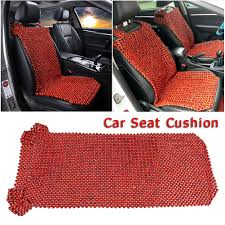 100 Car Seat In Truck US 713 14 OFF Cover EXCEL LIFE Natural Wood Beaded Cover Massaging Cool Cushion For Covers For Sin Automobiles