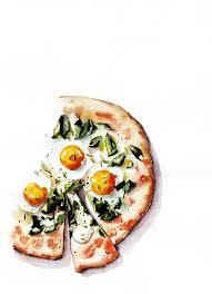 Beautiful Watercolor food 803