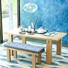 60 Inch Dining Bench Cushion Gallery Of With Back