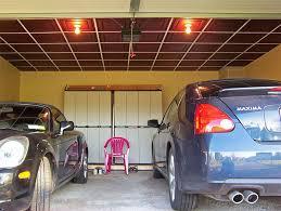 low profile grid in garage ceilume