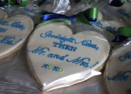 Heart Shaped Cookies For A Rehearsal Dinner SomersetCakes