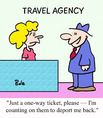 Why Travel Agents Should Be Suspicious Of One Way Tickets