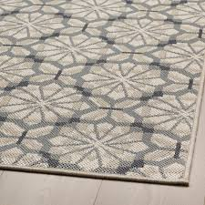 hundslund teppich flach gewebt drinnen drau grau beige 200x250 cm