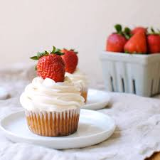 Strawberry Cupcakes This Homemade Cupcake Recipe Is Made From Scratch With Fresh Strawberries And